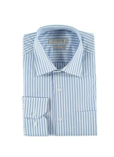 Çizgili Uzun Kollu Gömlek-LC Waikiki